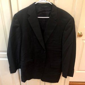 Hickey Freeman Wool Sport Coat 42 Regular